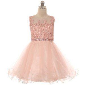 "Jessica Simpson JONAS  Black//Blush /""WILD/"" Tutu Dress Girl/'s Sz S-L NWT"